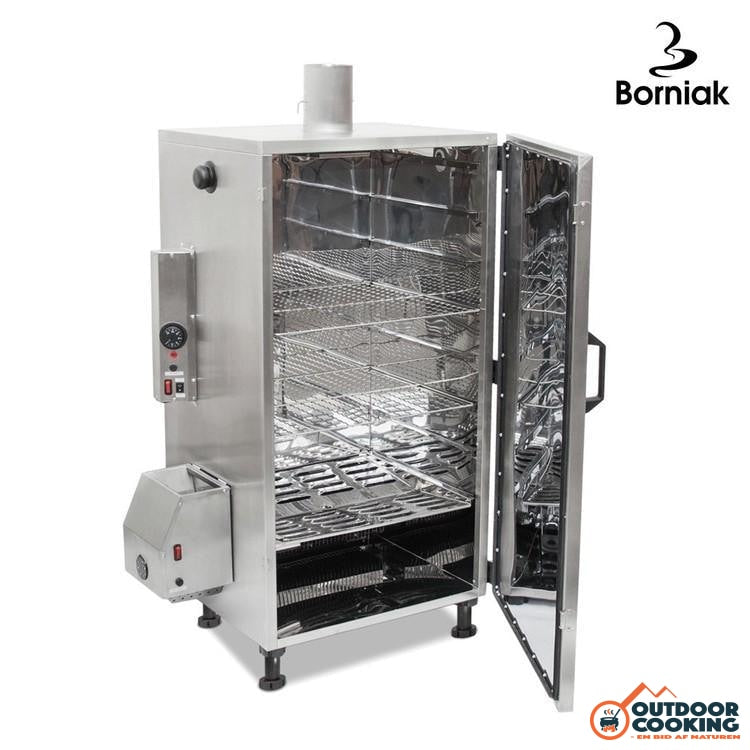Borniak Røgeovn UWS-150 Rustfri - Outdoor Cooking