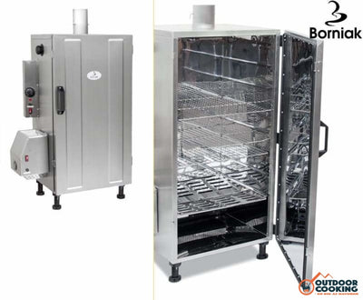 Borniak Røgeovn UWS-70 Rustfri - Outdoor Cooking