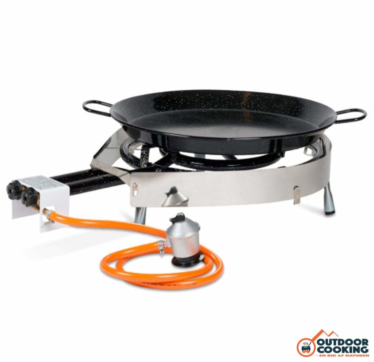 Komplet gaskøkken 50 med pande - Outdoor Cooking