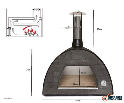 Maximus Alu Pizzaovn - Outdoor Cooking