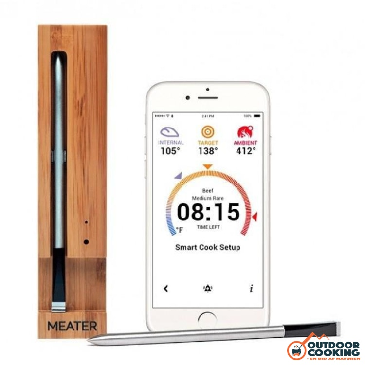 Meater bluetooth stegetermometer - Outdoor Cooking