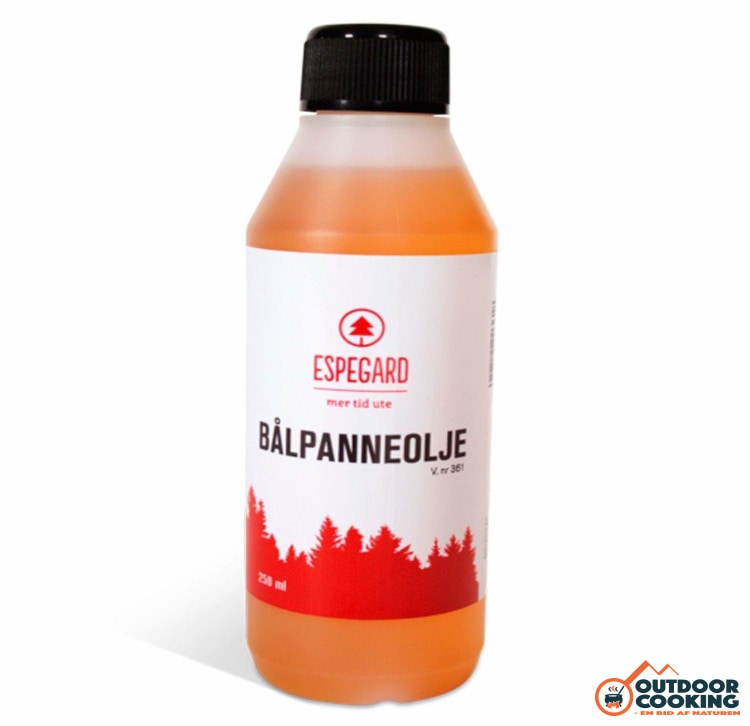 Olie til bålfad/bålstativ 250 ml - Outdoor Cooking