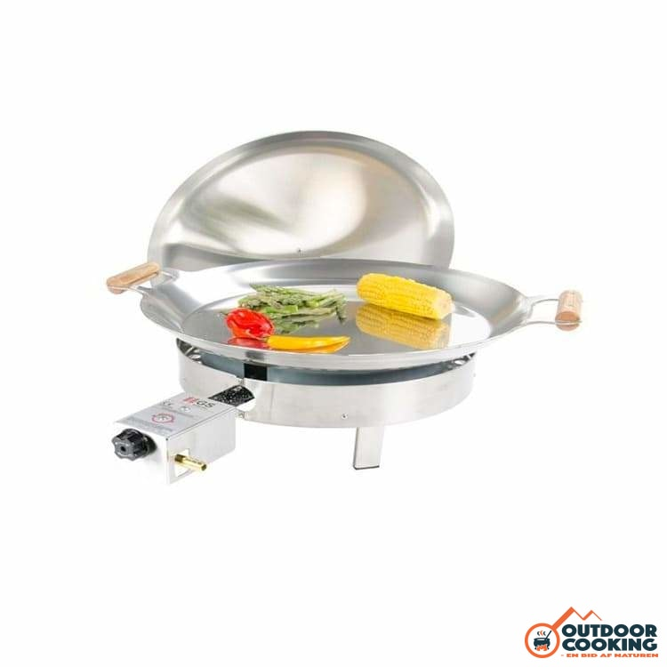 Paellapande inkl. gasblus - PRO-460 inox - Outdoor Cooking