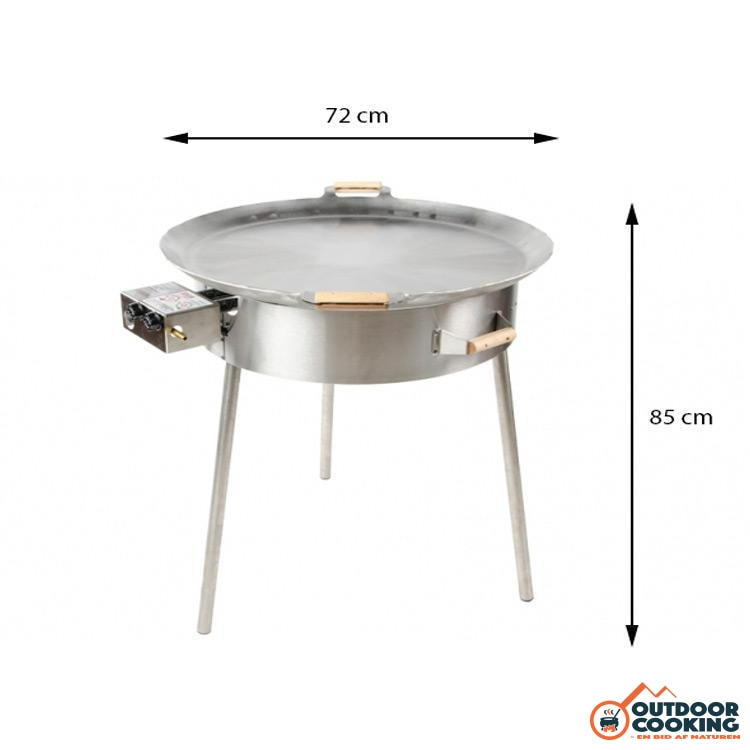 Paellapande inkl. gasblus - PRO-720 - Outdoor Cooking