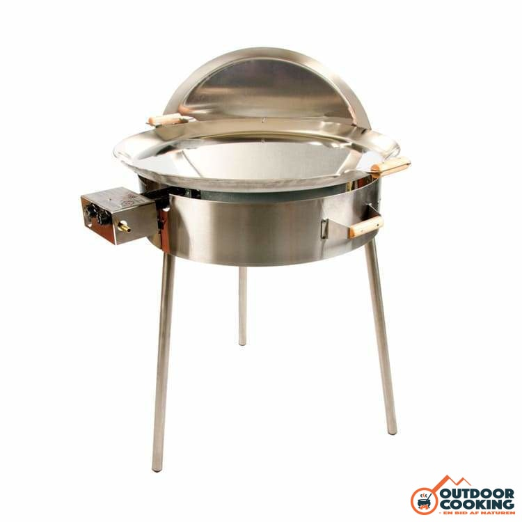 Paellapande inkl. gasblus - PRO-720 inox - Outdoor Cooking