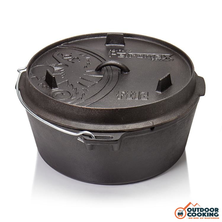 Petromax Dutch Oven Ft12 Med Ben - Outdoor Cooking