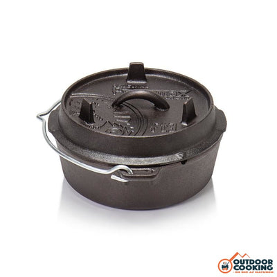 Petromax Dutch Oven Ft3 Uden Ben - Outdoor Cooking