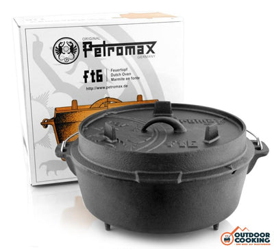 Petromax Dutch Oven Ft6 - Outdoor Cooking
