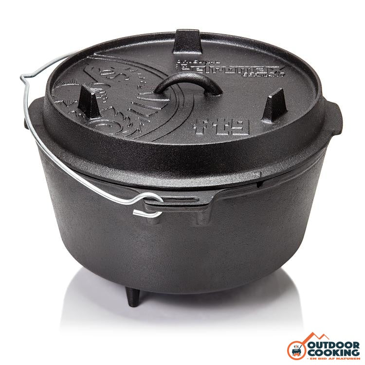 Petromax Dutch Oven Ft9 Med Ben - Outdoor Cooking
