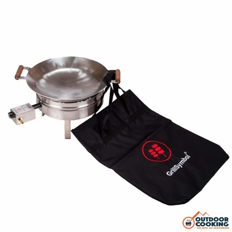 Wokpande inkl. gasblus - PRO-450 - Outdoor Cooking