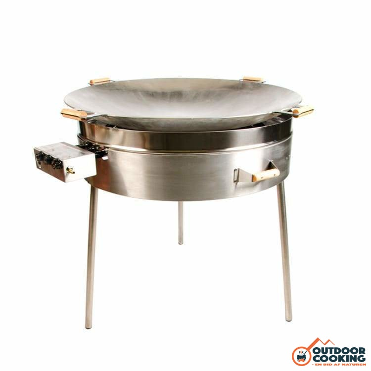 Wokpande inkl. gasblus - PRO-915 - Outdoor Cooking