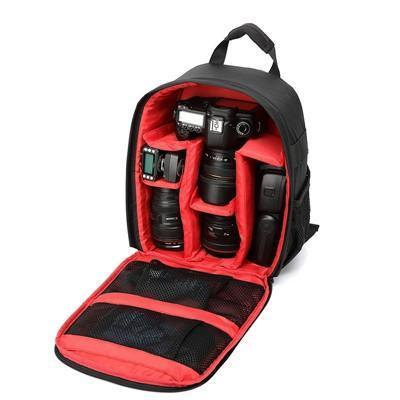 Camera Backpack for Photographer-geardeal.online-Red-GearDeal.Online