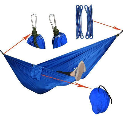 Hanging Sleeping Nylon Fabric-GearDeal.Online-royal blue-GearDeal.Online