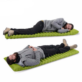 Soft Sleeping Pad Fast Filling Air Bag - geardeal.online