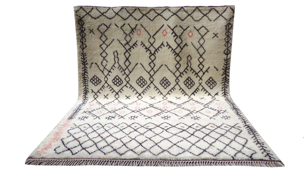 Fine Hand knotted custom Moroccan Azilal - MA22
