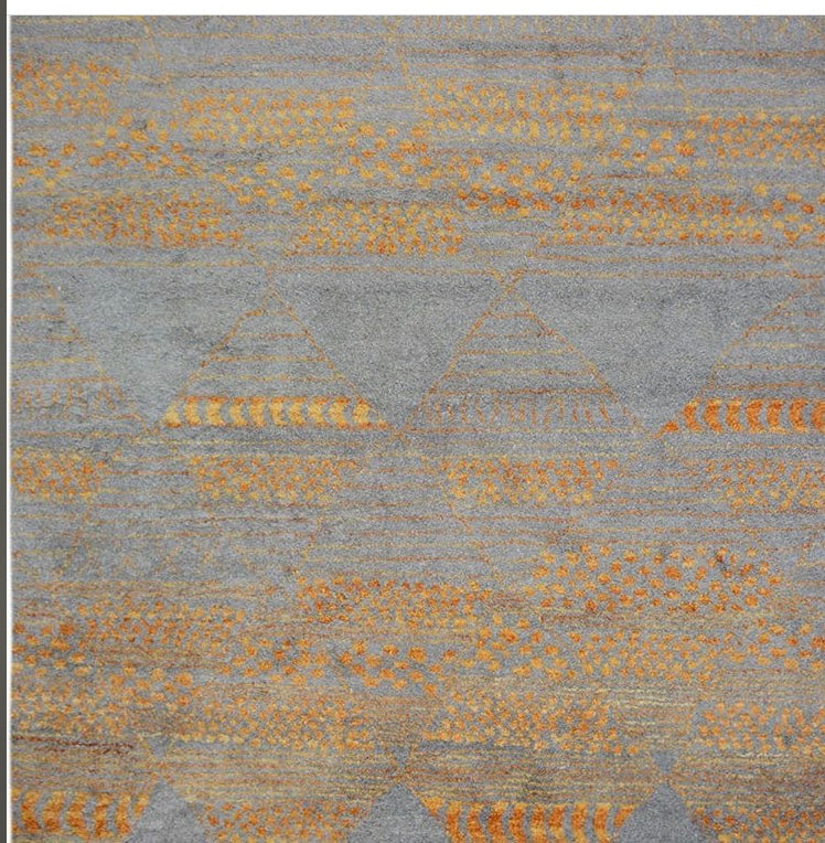 Hand Knotted Moroccan Azilal Rug - A71