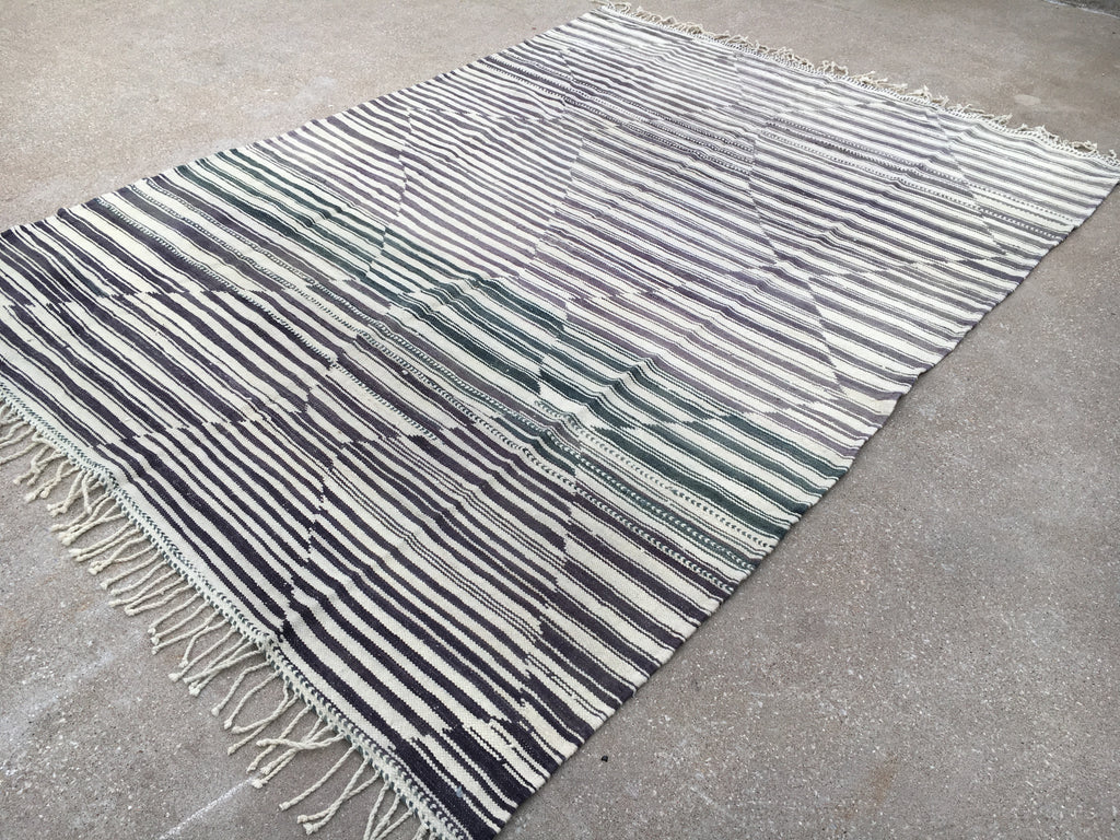 Genuine Moroccan Kilim - New design by Atlas Weavers - K4
