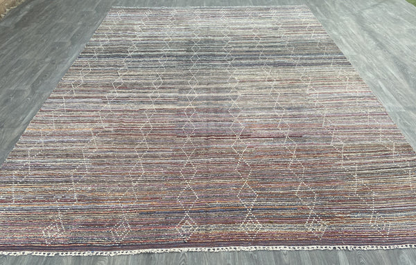 Hand knotted Moroccan Azrou Hanbel Rug  -  ML28