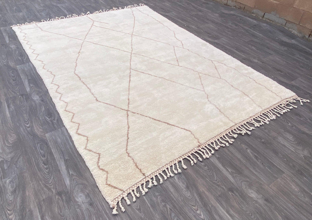 Genuine Moroccan Rug - Beni Ourain Rug - PA30