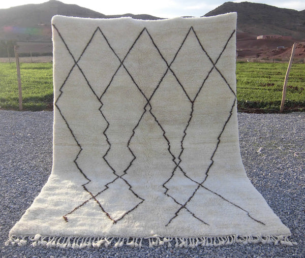 Middle Atlas Moroccan Rug By Atlas Weavers - U10