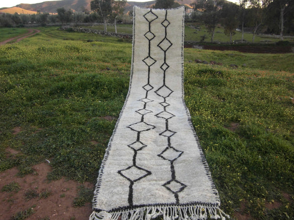 Genuine Moroccan Rug - Runner