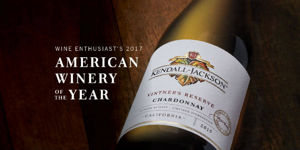 Kendall-Jackson wint American Winery of the year 2017