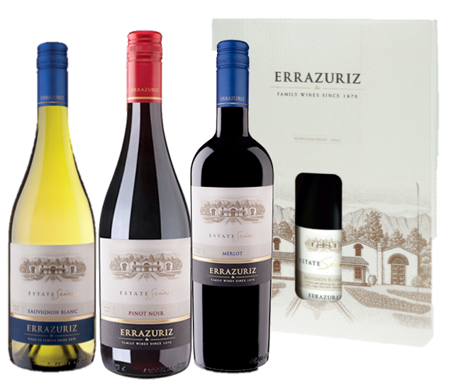 Errázuriz Estate Series (in giftbox)
