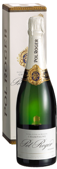 Champagne Pol Roger Brut Réserve (in giftbox)