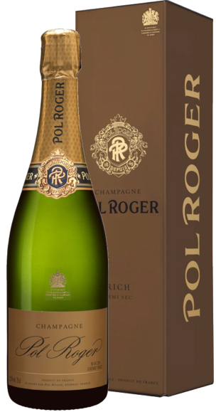 Champagne Pol Roger Rich Demi Sec (in giftbox)