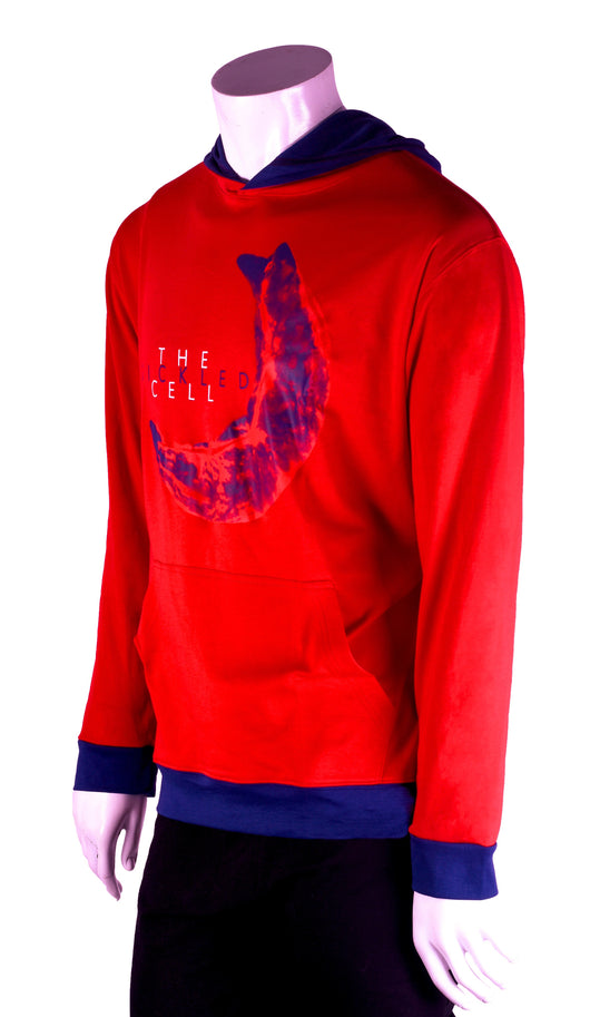 The Transfusion Red hoodie
