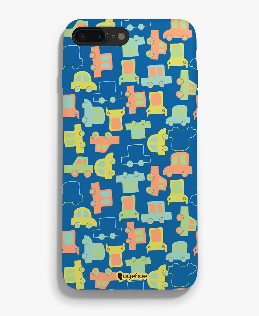 Car Toon Phone Cover - OyeHoe