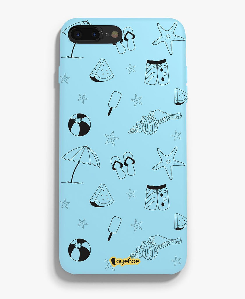 Relaxing Beach Phone Cover - OyeHoe