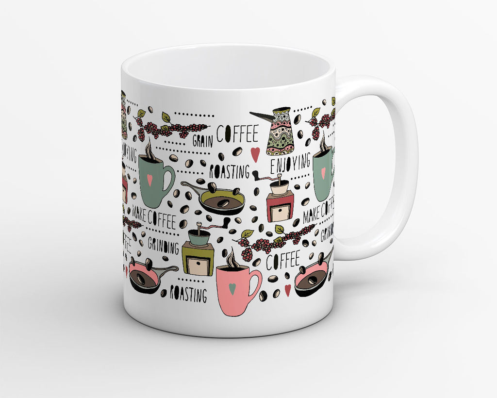 Roasted Beans Coffee Mug - OyeHoe