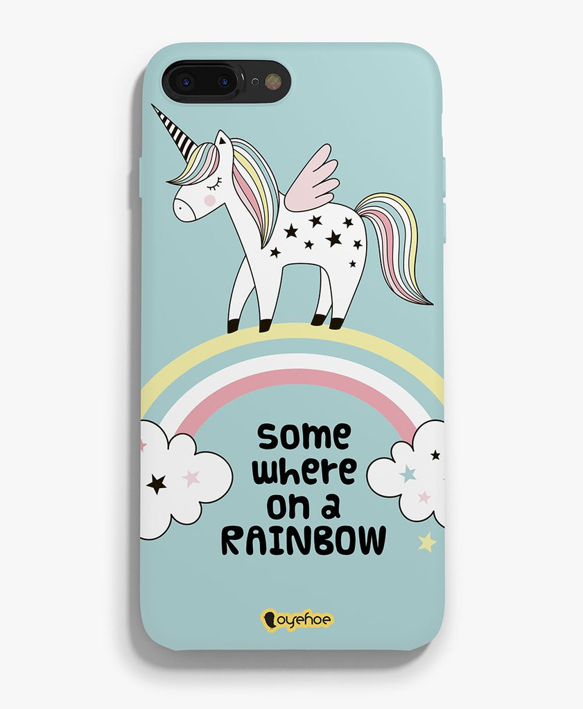 Somewhere on a Rainbow Phone Cover - OyeHoe