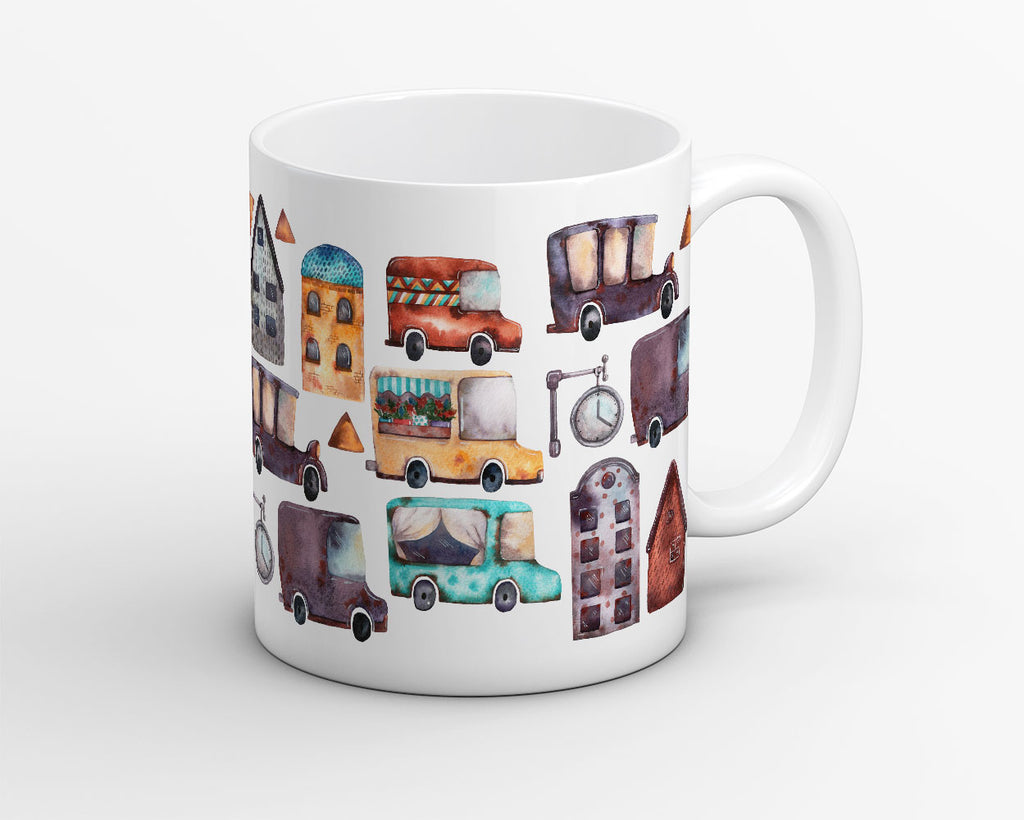 Vintage Moving Society Coffee Mug - OyeHoe