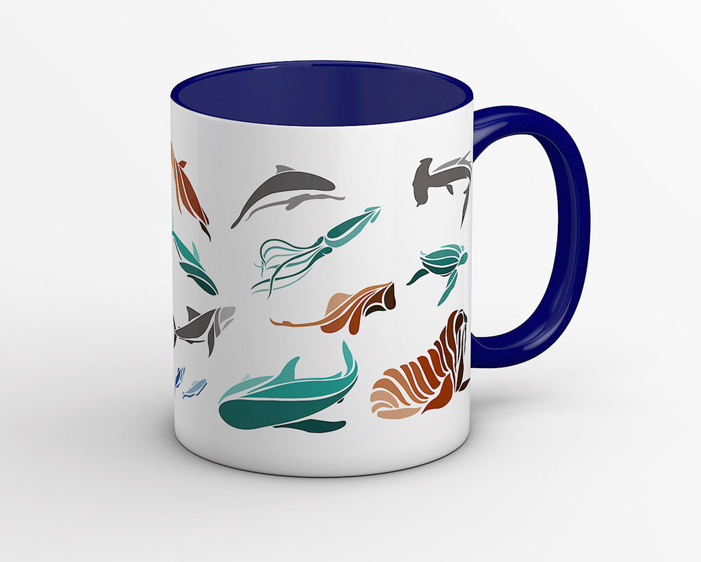 Deep Sea Fish Coffee Mug - OyeHoe