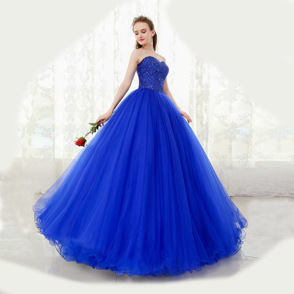 Vintage Floor Fashion Length Casual Women Dress
