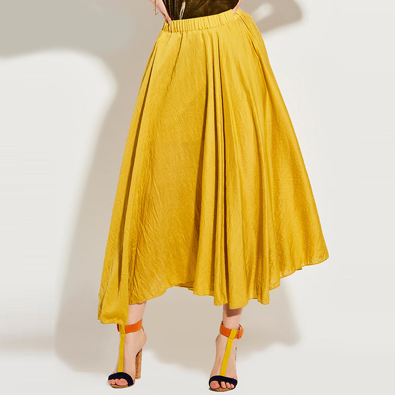 Mid-Waist Expansion Casual Women Skirt - OyeHoe