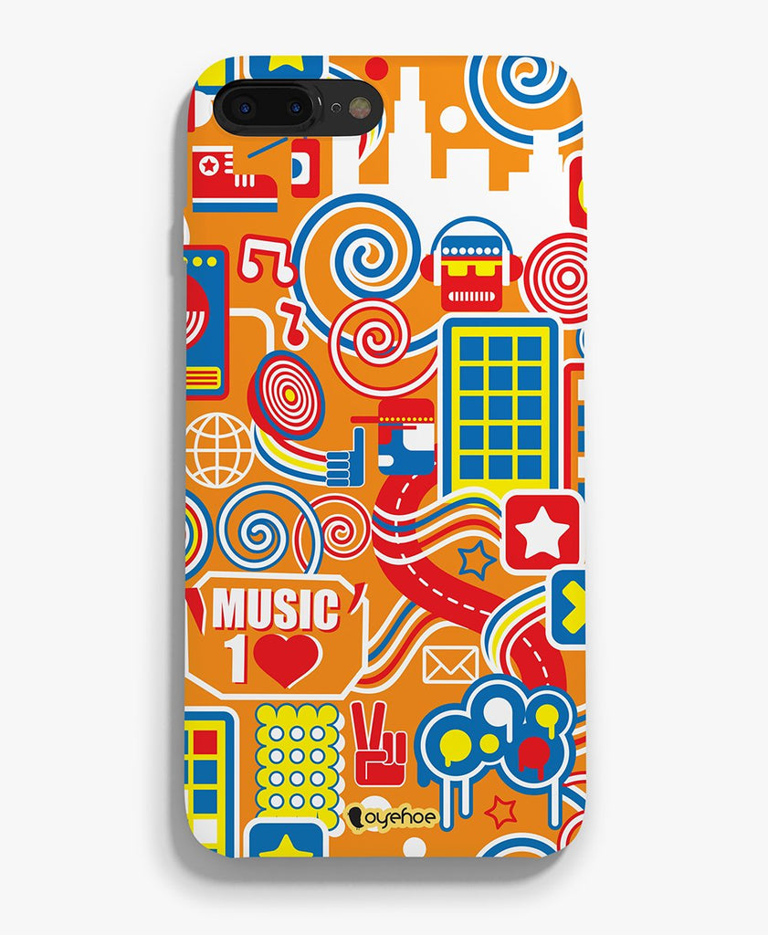 Music come Loud Phone Cover - OyeHoe