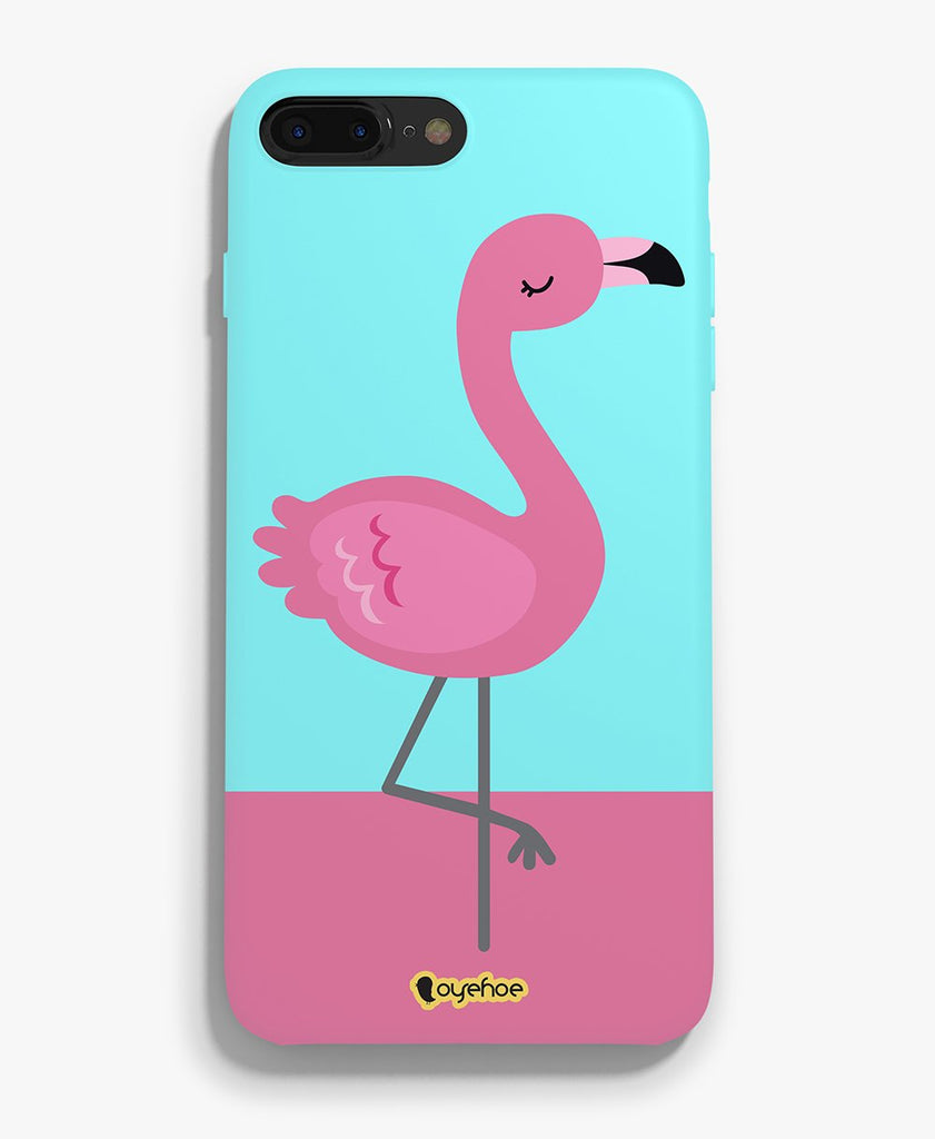 Flamingo Printed Phone Cover - OyeHoe