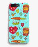 Carrot fly with me Phone Cover