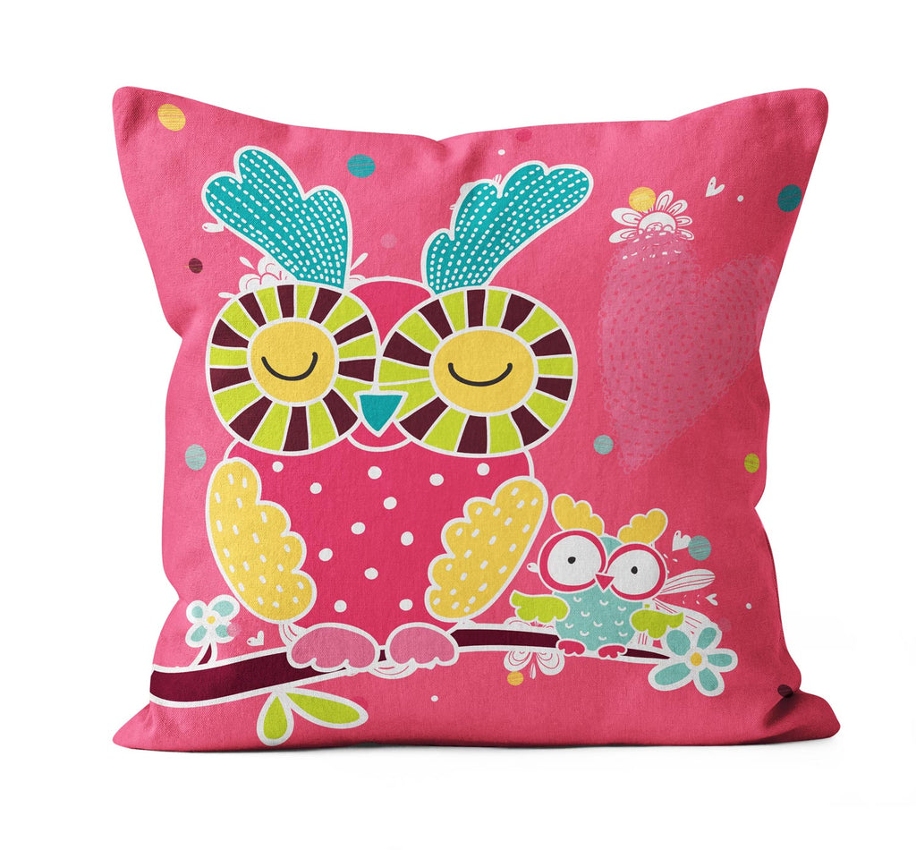 My Beautiful Owl Cushion Cover - OyeHoe