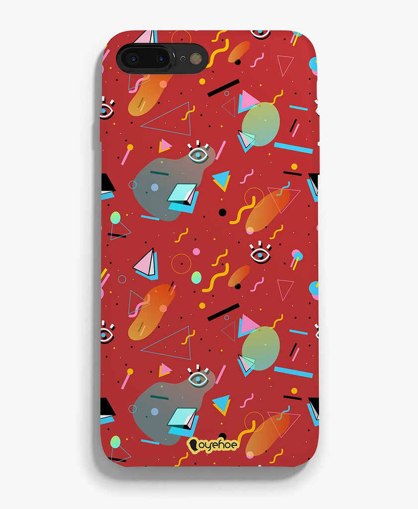 Cuts and Pieces Phone Cover - OyeHoe