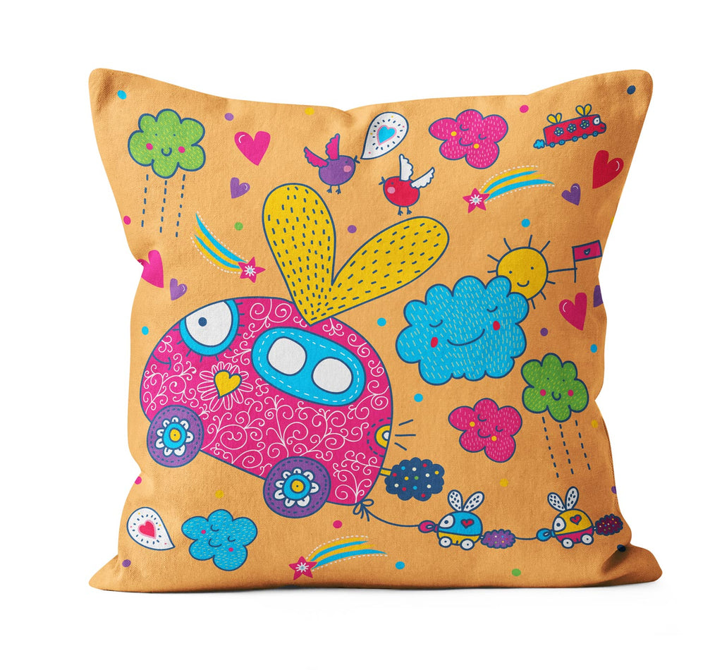 Let me Drive Cushion Cover - OyeHoe