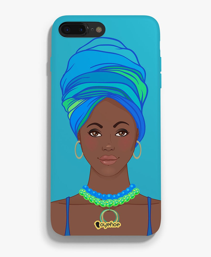 Signature Black Lady Phone Cover - OyeHoe