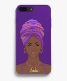 Signature Black Lady II Phone Cover