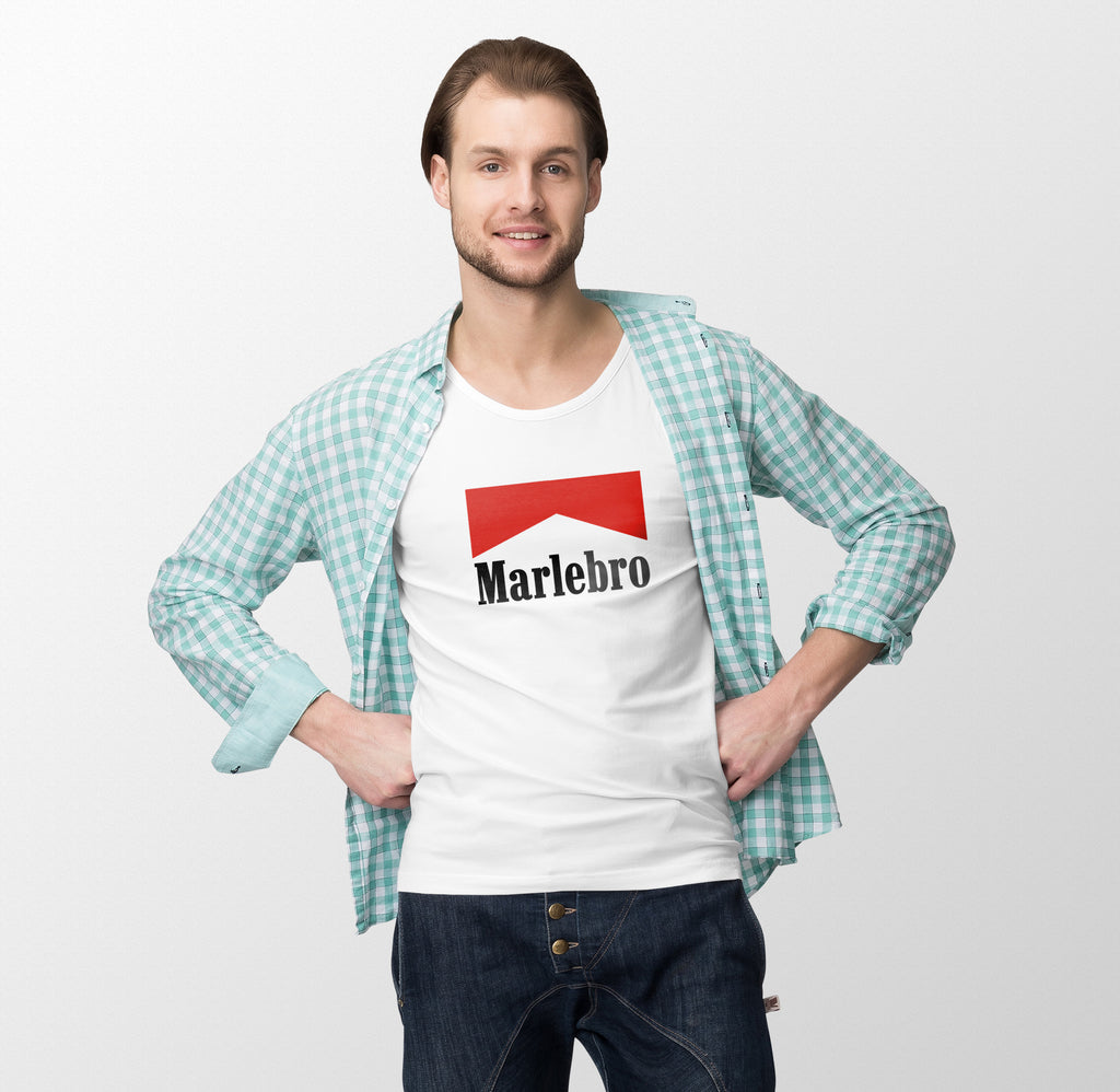 Marlebro Half Sleeves Men T-Shirt - OyeHoe