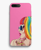 Signature Colored Girl Pink Phone Cover