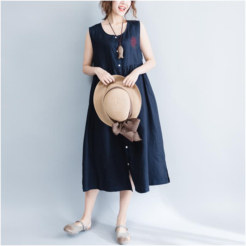 Summer Style Plus Size Casual Women Dress