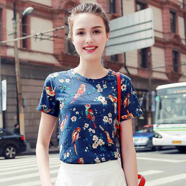 Summer Femme Casual Women Top